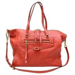 Louis Vuitton Bastille Empreinte Mm 2way Tote 2189962 Red Leather Shoulder Bag