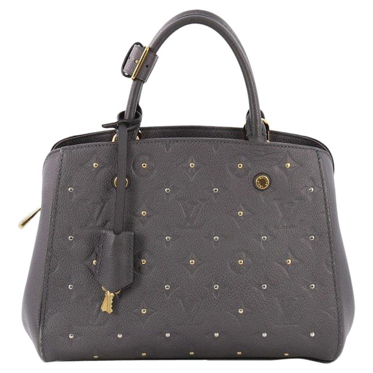 a04feb7a3eca Louis Vuitton Montaigne Handbag Studded Monogram Empreinte Leather BB For  Sale