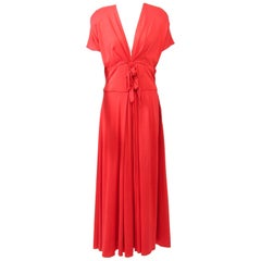 Kathryn Dianos Red Maxi Dress