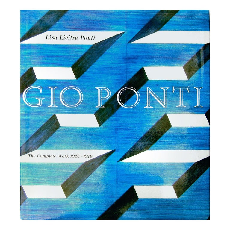 Gio Ponti The Complete Work 1923 - 1978  1st Edition Hard Cover Book  For Sale