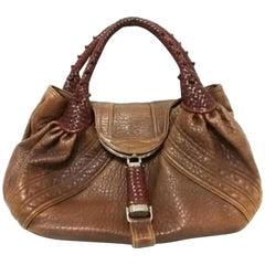 d379b2c023 Fendi Metallic Gold Tone Lame Monogram Mini Bag For Sale at 1stdibs