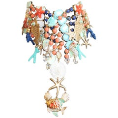 2019 Carlo Zini Sea Necklace