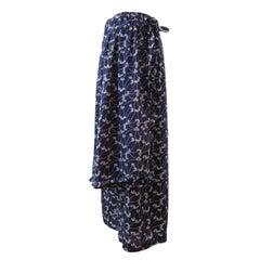 Comme des Garcons Half Layer Navy Trouser Pants AD 2001