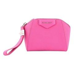 Givenchy Antigona Beauty Clutch Leather