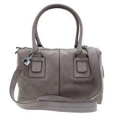 bf4ae6dbd12 Tod's Pink Leather Small Sella Bowling Bag at 1stdibs