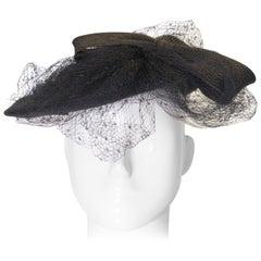 Vintage Oscar De La Renta Straw Hat