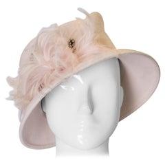 Vintage Pastel Pink Hat by Emma B design