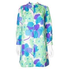 Vintage Marcel Fenez Silk Shirt /Tunic