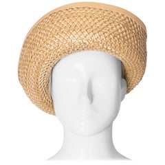 Vintage Harvey Nichols Straw Hat