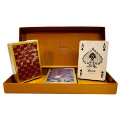 GUCCI Never used authentic vintage playing cards