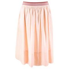 Stella McCartney Pink A Line Skirt US 8