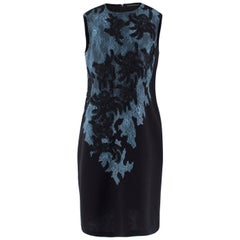 Ermanno Scervino Lace Applique Shift Dress US 6
