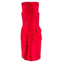 CH by Carolina Herrera duchess silk-blend satin dress US 8
