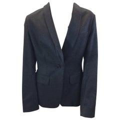 Yves Saint Laurent Gray Wool Jacket