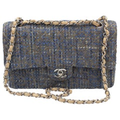 Chanel Timeless Tweed Double Flap 25 cm