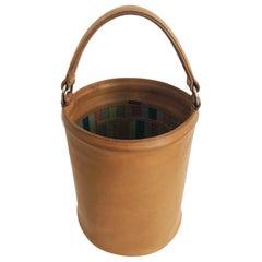 Bonnie Cashin for Coach Saddle Leather Feed Bucket Bag Tote Rare 1970s