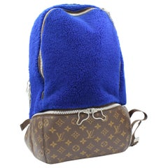 Louis Vuitton Limited Edition backpack Fleece by Marc Newson