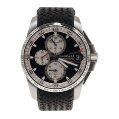 Chopard Black Stainless Steel 0463/2011 Mille Miglia Men's Wristwatch 45MM