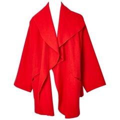 Stephen Burrows Oversize Wool Jacket
