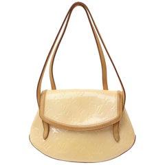 Louis Vuitton Monogram Vernis Biscayne Pm 869681 Beige Patent Leather Shoulder B