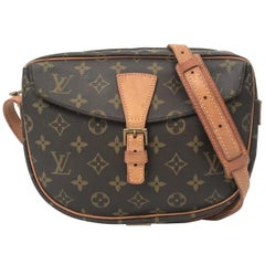 Louis Vuitton Jeune Fille Monogram 869628 Brown Coated Canvas Cross Body Bag