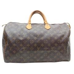 Louis Vuitton Speedy Monogram 40 Gm 869482 Brown Coated Canvas Satchel