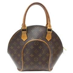 Louis Vuitton Ellipse Monogram Pm Octagon Bowler 869380 Brown Coated Canvas Satc