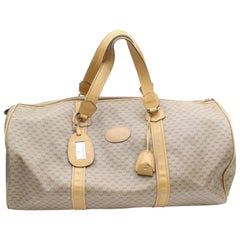 Gucci Boston Extra Large Monogram Duffle 868875 Brown Coated Canvas Weekend/Trav