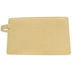 Louis Vuitton Vanilla Epi Rochelle Belt 868462 Ivory Leather Clutch