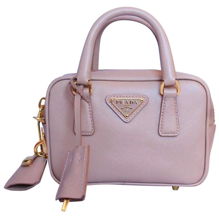 newest collection d4e91 9dd4b Prada Saffiano Lux Miniature Bag