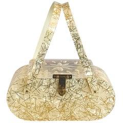 Beige Novelty Bags