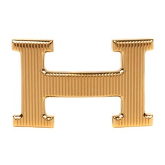Hermes Calender Model Gold Belt  Bouckle