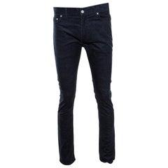 Louis Vuitton Marine Slim Fit Corduroy Denim Pants M