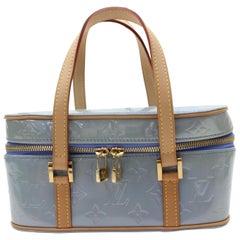Louis Vuitton Monogram Vernis Sullivan Horizontal A867848 Blue Patent Leather