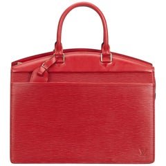 Louis Vuitton Red Epi Riviera