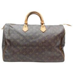 Louis Vuitton Speedy Xl Monogram 40 Gm 869345 Brown Coated Canvas Weekend/Travel