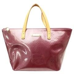 Louis Vuitton Bellevue Amarante Monogram Vernis Pm 869317 Purple Patent Leather