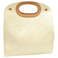 Louis Vuitton Maple Drive Perle Cream Monogram Vernis 868859 White Patent Leathe