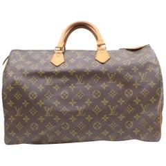 Louis Vuitton Speedy Large Monogram 40 Boston Gm 869605 Brown Weekend/Travel Bag