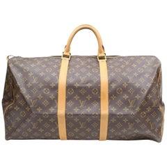 Louis Vuitton Keepall Duffle Monogram 60 869062 Brown Weekend/Travel Bag