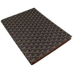 Goyard Clutch Doocumet Notebook  Holder in  Monogram Canvas