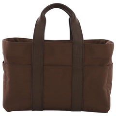 Hermes Acapulco Tote Nylon and Leather PM
