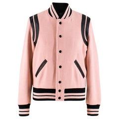 Saint Laurent Wool-blend Teddy Jacket US 6