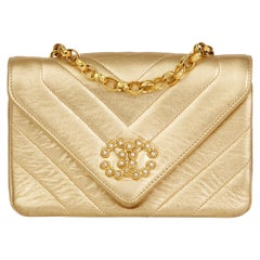 Gold Handbags and Purses