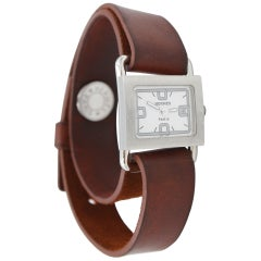 Women's Hermes Barenia  Stainless Steel  Watch