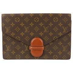 Louis Vuitton Vintage Monogram Canvas Ranelagh Clutch Bag