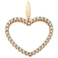 Bernhard H. Mayer Adonia Diamond 18k Yellow Gold Pendant