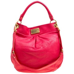 Marc by Marc Jacobs Red Leather Classic Q Hillier Hobo