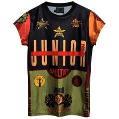JEAN PAUL GAULTIER Vintage Printed T-shirt.
