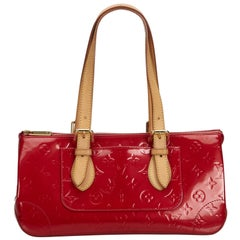 Louis Vuitton Red Vernis Rosewood
